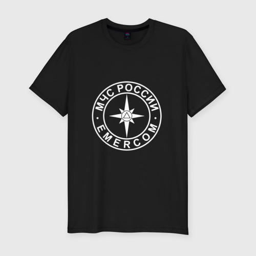 Мужская футболка хлопок Slim МЧС (двусторонний)