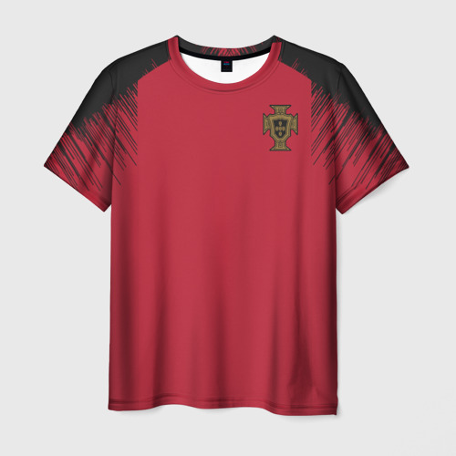 Мужская футболка 3D Portugal 2018 WC Anthem Jacket