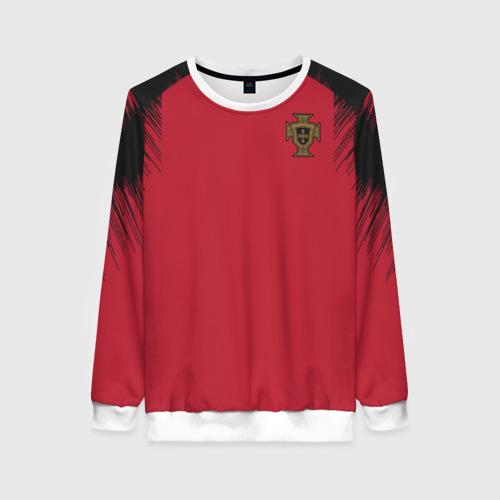 Женский свитшот 3D Portugal 2018 WC Anthem Jacket