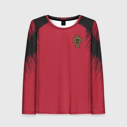 Женский лонгслив 3D Portugal 2018 WC Anthem Jacket