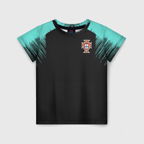 Детская футболка 3D Portugal 2018 WC Training