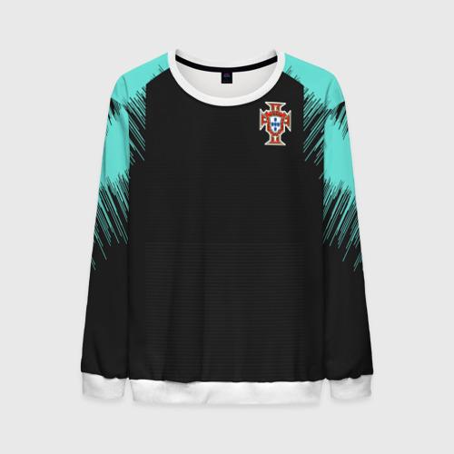 Мужской свитшот 3D Portugal 2018 WC Training