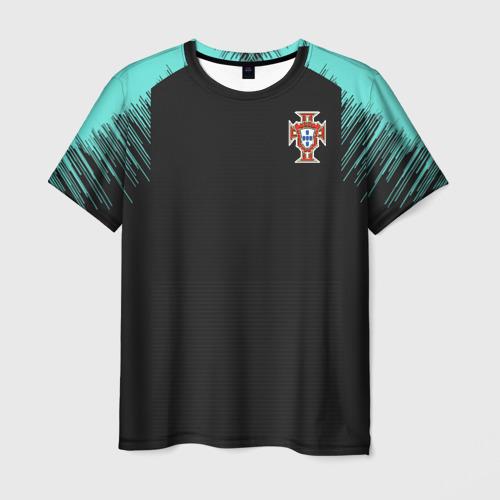 Мужская футболка 3D Portugal 2018 WC Training