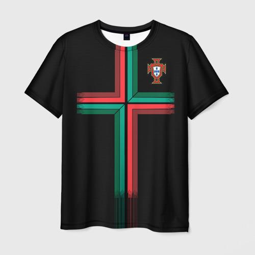 Мужская футболка 3D Portugal 2018 WC alternative