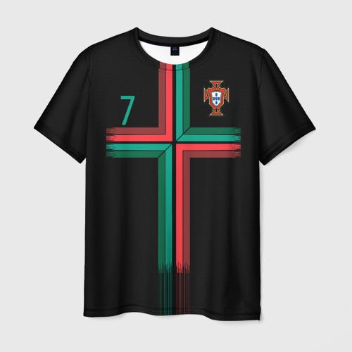 Мужская футболка 3D Роналду 2018 ЧМ Альтернативная