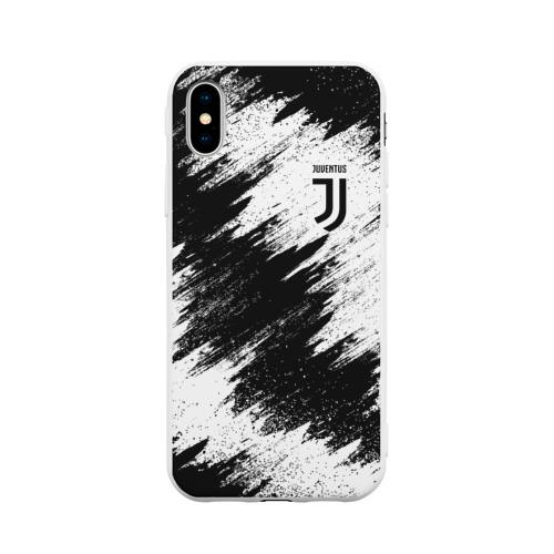 Чехол для iPhone X матовый Juventus
