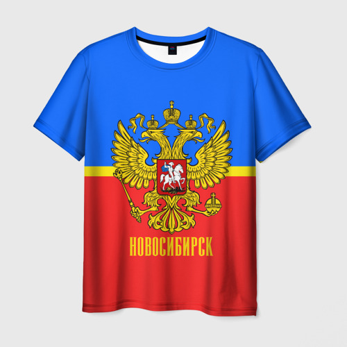 Мужская футболка 3D Новосибирск