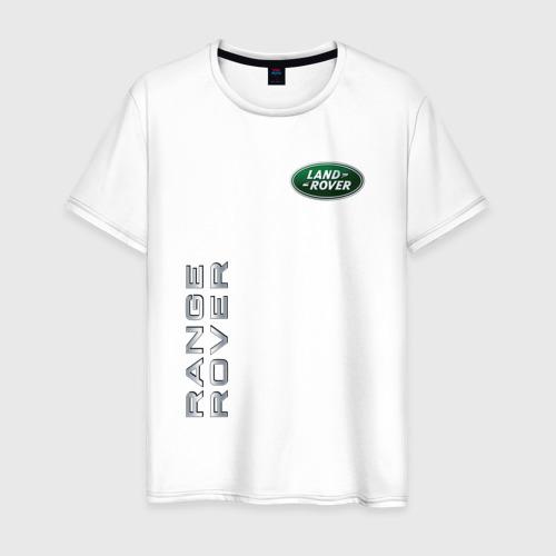 Мужская футболка хлопок Land Rover - Range Rover