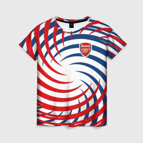 Женская футболка 3D Arsenal