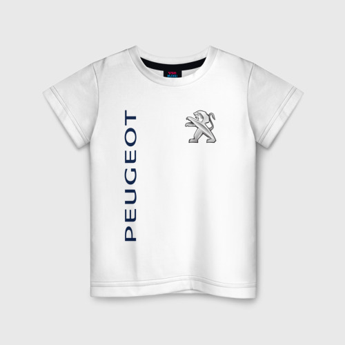 Детская футболка хлопок Peugeot