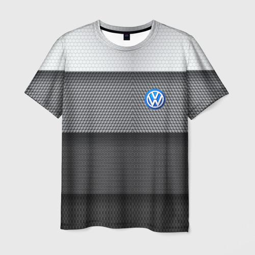 Мужская футболка 3D Volkswagen sport auto