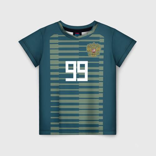 Детская футболка 3D Лунёв ЧМ 2018