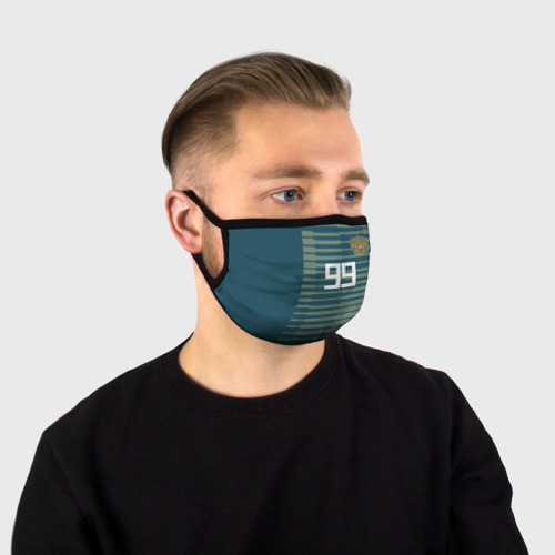 Маска защитная (+5 фильтров) Лунёв ЧМ 2018