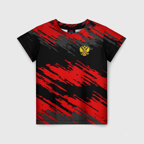 Детская футболка 3D RUSSIA SPORT