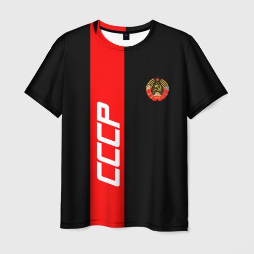 Мужская футболка 3D СССР-black collection