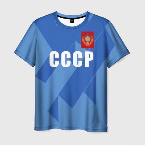 Мужская футболка 3D Лев Яшин ретро