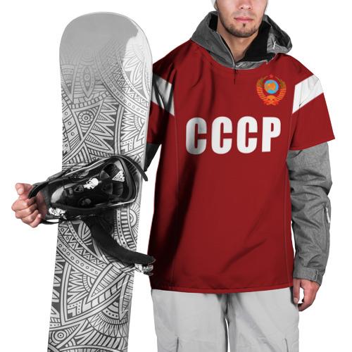 Накидка на куртку 3D Лев Яшин ретро 2