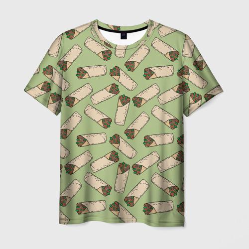 Мужская футболка 3D Шаверма