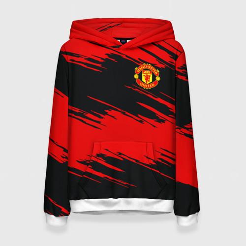 Женская толстовка 3D Manchester United