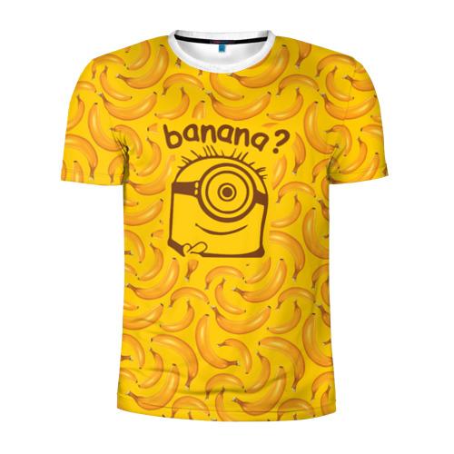 Мужская футболка 3D спортивная Banana?