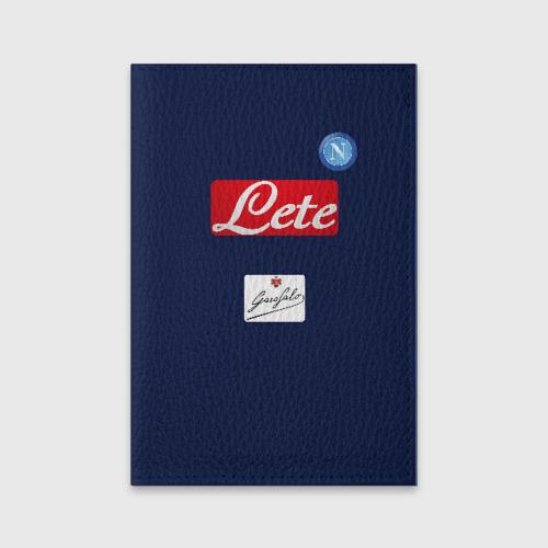 Обложка для паспорта матовая кожа Napoli