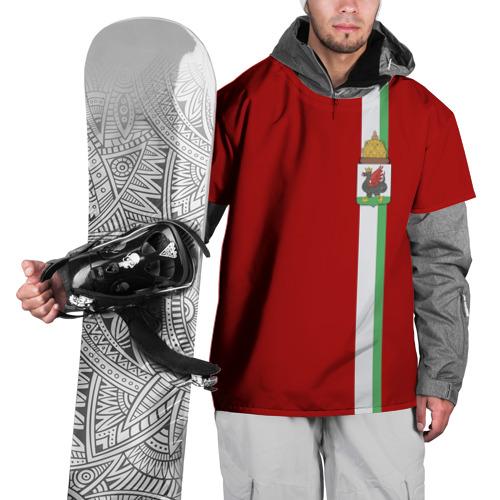 Накидка на куртку 3D Казань, лента с гербом