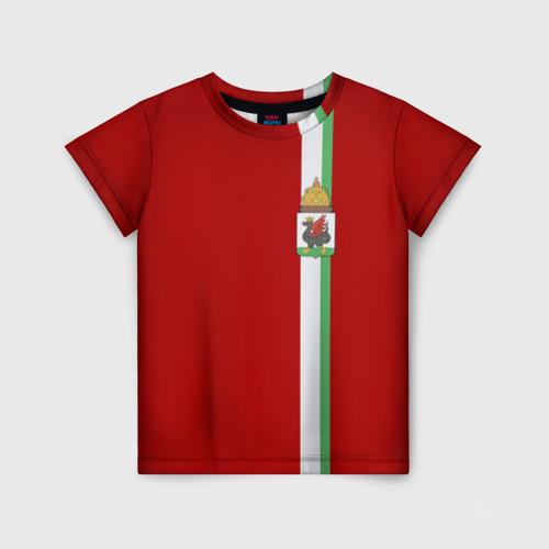 Детская футболка 3D Казань, лента с гербом