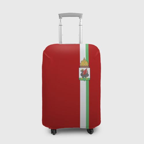 Чехол для чемодана 3D Казань, лента с гербом