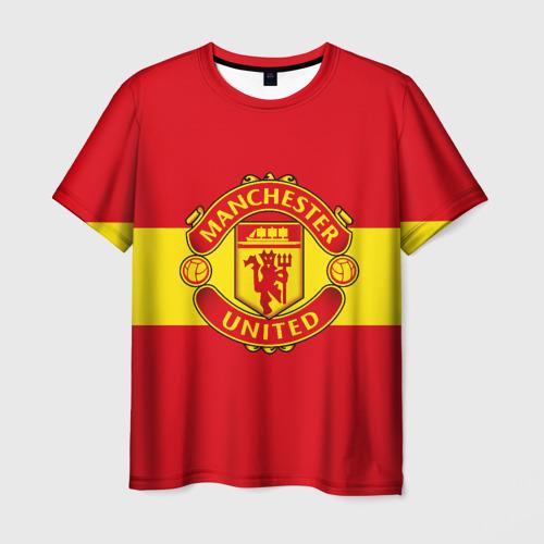 Мужская футболка 3D Манчестер Юнайтед ФК
