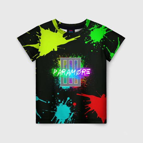 Детская футболка 3D Paramore