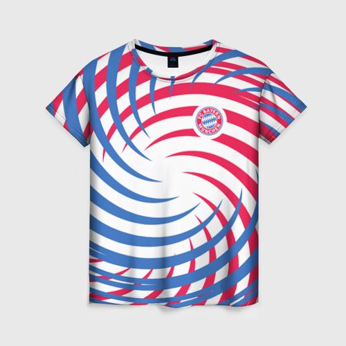 Женская футболка 3D FC Bayern Munchen