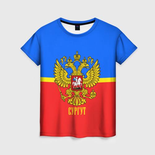 Женская футболка 3D Сургут
