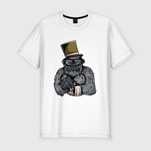 Мужская футболка хлопок Slim Гроссмейстер