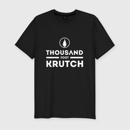 Мужская футболка хлопок Slim Thousand Foot Krutch logo