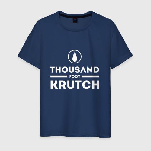 Мужская футболка хлопок Thousand Foot Krutch logo