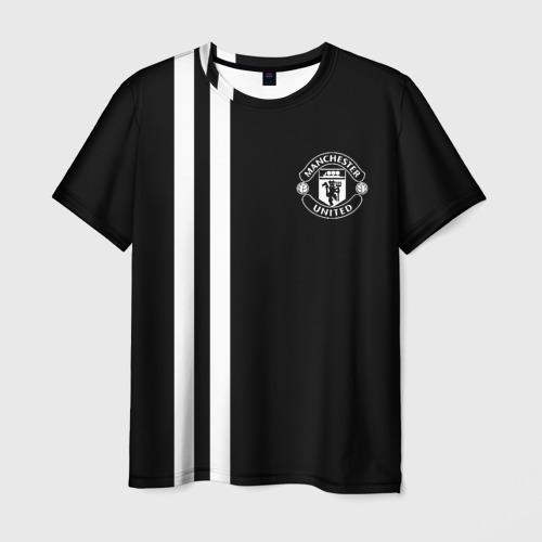 Мужская футболка 3D Manchester United Black&White