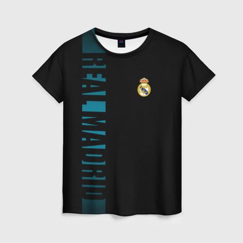 Женская футболка 3D  РЕАЛ МАДРИД | REAL MADRID