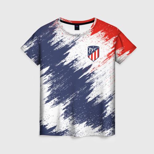 Женская футболка 3D Atletico Madrid
