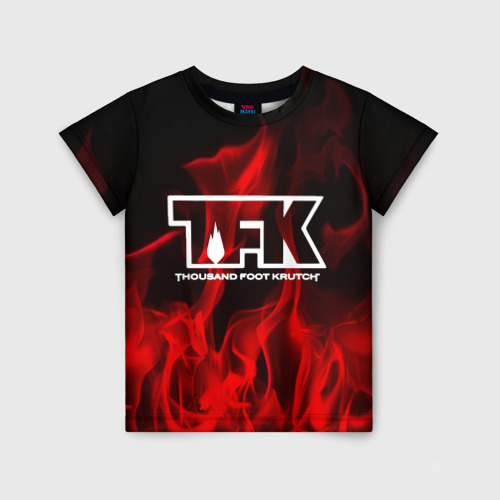 Детская футболка 3D thousand foot krutch