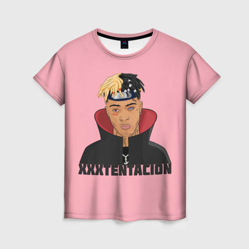Женская футболка 3D XXXtentacion (1)