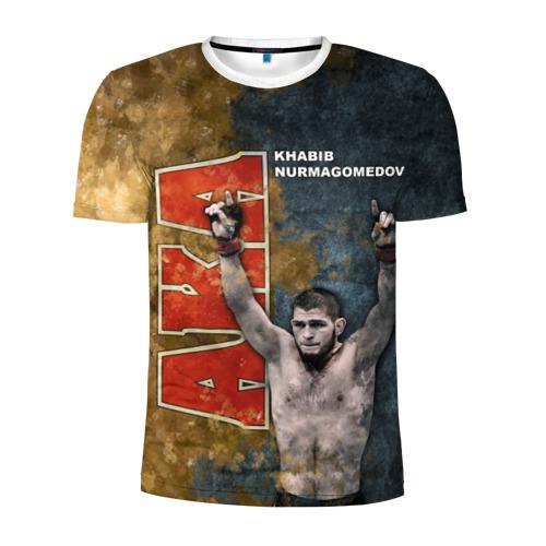 Мужская футболка 3D спортивная Хабиб Нурмагомедов (the Eagle)