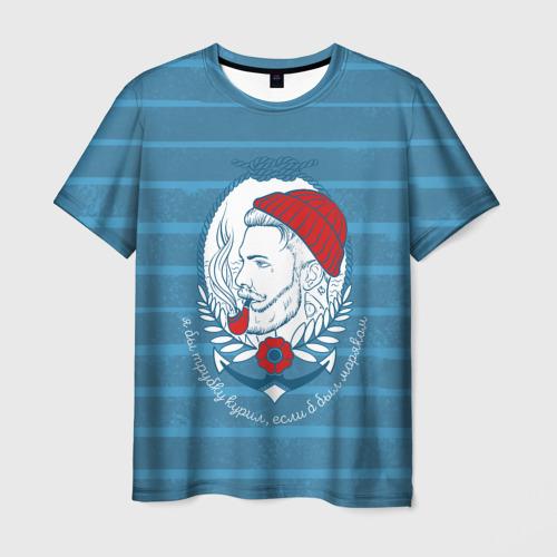 Мужская футболка 3D Моряк