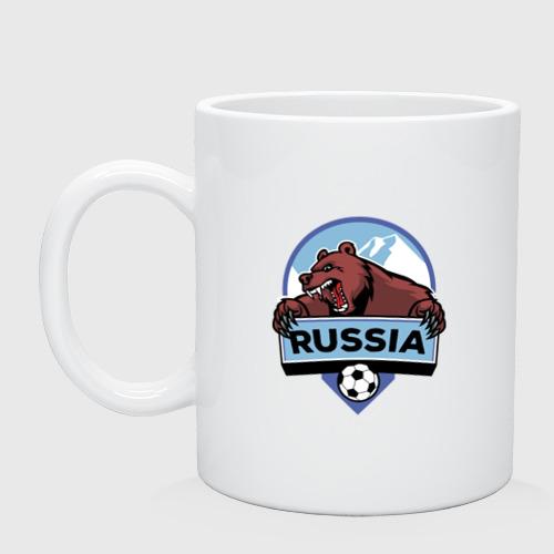 Кружка Россия Медведь