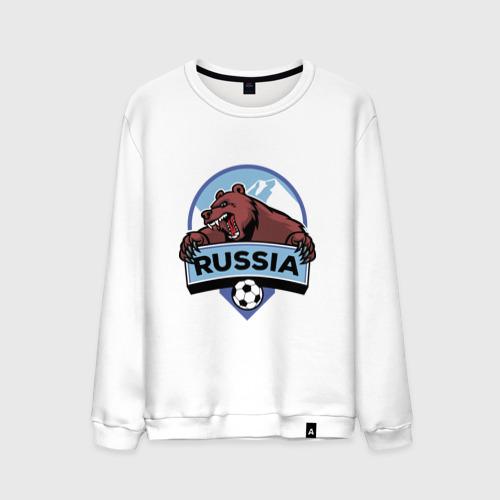 Мужской свитшот хлопок Россия Медведь