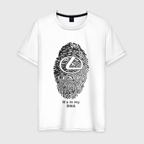 Мужская футболка хлопок Lexus it's in my DNA