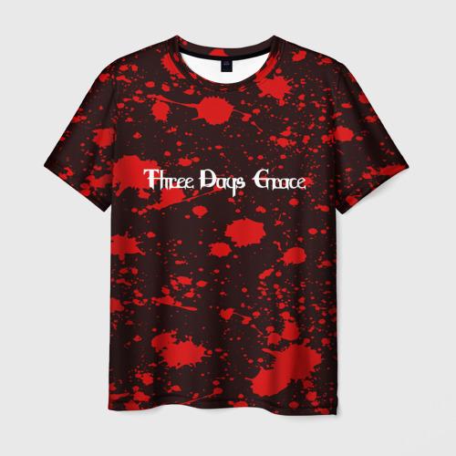 Мужская футболка 3D Three Days Grace