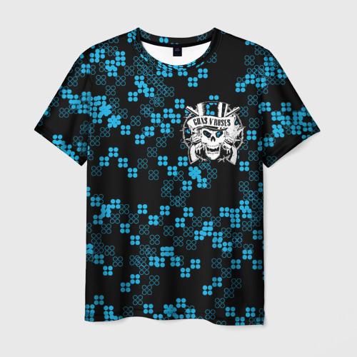 Мужская футболка 3D Guns N' Roses