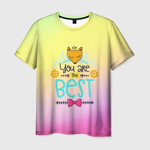 Мужская футболка 3D Ты самый лучший!