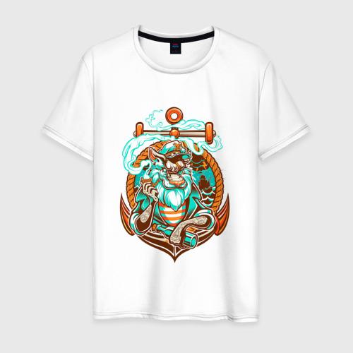 Мужская футболка хлопок Пират