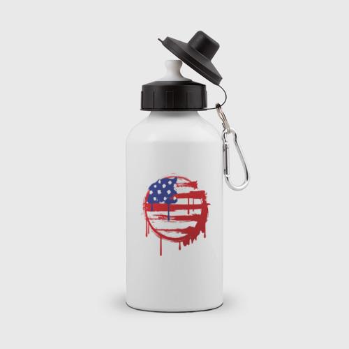 Бутылка спортивная Америка